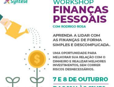 WORKSHOP FINANÇAS PESSOAIS COM RODRIGO ROSA